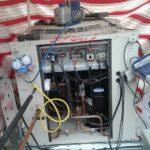 نصب داکت اسپلیت فشار بالا