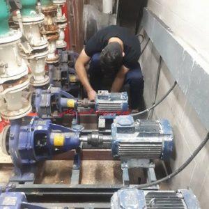 سرویس و تعمیر و نگهداری موتورخانه 8789