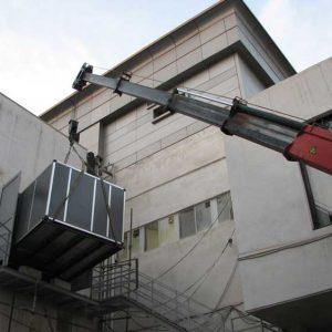 نصب و راه اندازی هواساز
