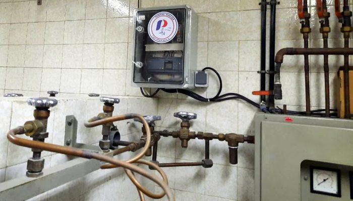سیستم کنترل سیستم مرکزی کنترل گاز اکسیژنPLC 3